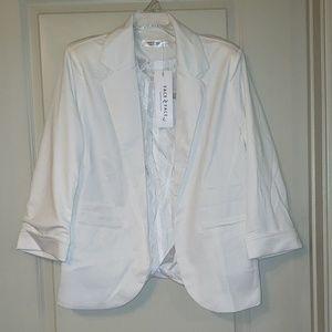 Jackets & Blazers - NWT white blazer